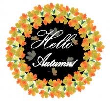 Осенний логотип