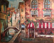 Венеция, живопись маслом