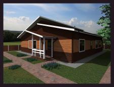 Разработка дизайна экстерьера частного дома.Москов