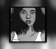 Портрет Monique Alice Bourscheid