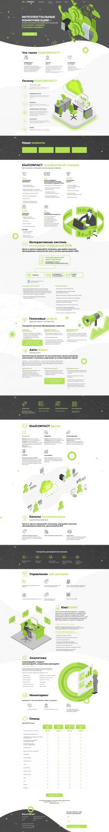 Корпоративный сайт KiwiCONTACT