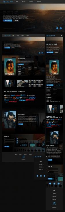 Shadow Clone Films | Лендинг-афиша