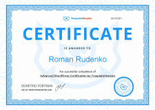 WORDPRESS (Certificate)