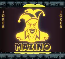 Джокер карточка неон