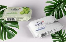 Дизайн упаковки мыла (саше)