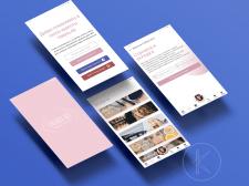 Дизайн приложения для салона красоты Valeria Alt