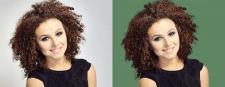 Выделение волос