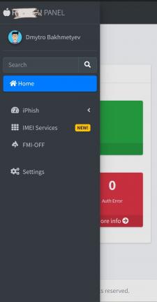 CRM Для обработки заказов по разблокировке iCloud.