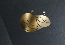 Логотип с изображением абстрактного краба