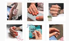 Создание бренда для салона ногтевого сервиса