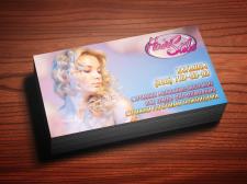 """Логотип и визитка """"Hair Style"""""""