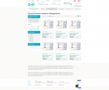 Разработка интернет-магазина швейного оборудования