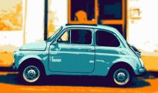 Векторная иллюстрация (AI + PS) Fiat 600