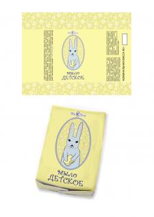 Упаковка для детского мыла