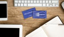 Вариант визитки юридической компании Cogburn Law