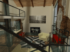 интерьер дачного дома 2