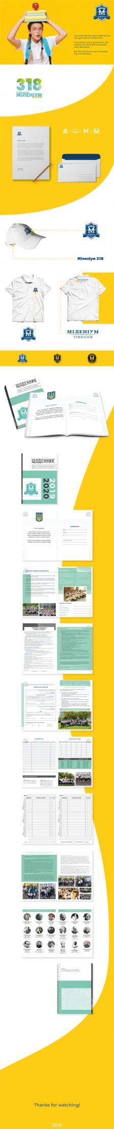 """Гімназія """"Міленіум"""" 318 м. Києва"""