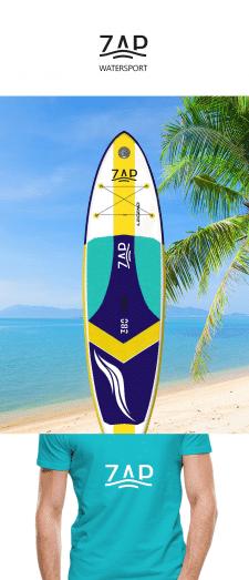 логотип для линейки доск для серфинга