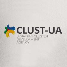 Разработка логотипа Clust-UA