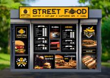 Оформление точки продажи уличной еды