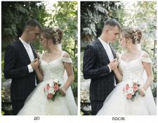 Цветокоррекция и ретушь фото