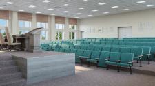 Визуализация актового зала