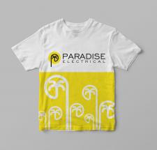 дизайн футболки и лого