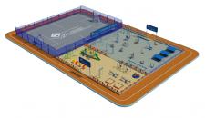 Модель стадіона 1