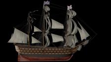 Викторианский корабль