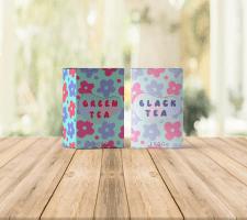 дизайн упаковки для чаю