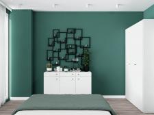 """Дизайн інтер'єру спальні №2 для """"Мerx"""""""