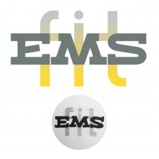 """Отрисовка логотипа фитнес-клуба """"EMSfit"""""""