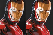 """Перерисовка """"Iron man"""""""