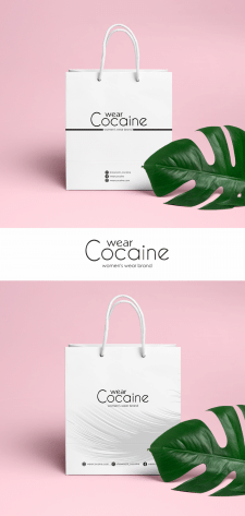 Дизайн упаковки WearCocaine