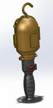 Моделирование изделия Светильник
