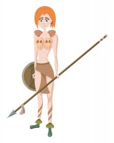 Amazon-woman
