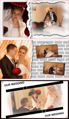 Разворот. Принтбук Премиум 20х20. Our Wedding.