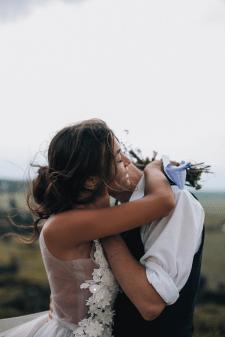 Свадебная съёмка и ретушь
