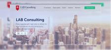 Сайт для фирмы Lab Consulting.