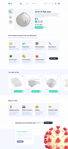 Website for online-shop