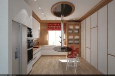 Кухня эко лофт