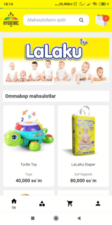 Online Shopo(Lalashop)