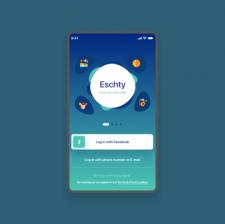 Esnchty UX UI App