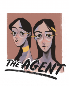 логотип модельного агенства