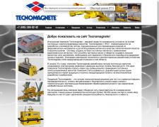 Сайт итальянская компании Tecnomagnete