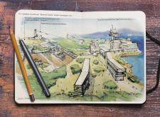 Иллюстрация для архитектурной концепции