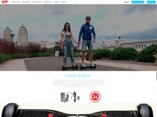 Сайт для продаж Гироскутеров