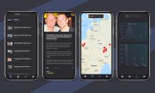 React Native мобильное приложение Cryme Map