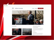 Политический шаблон для WordPress