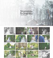 Лендинг-портфолио для фотографа.